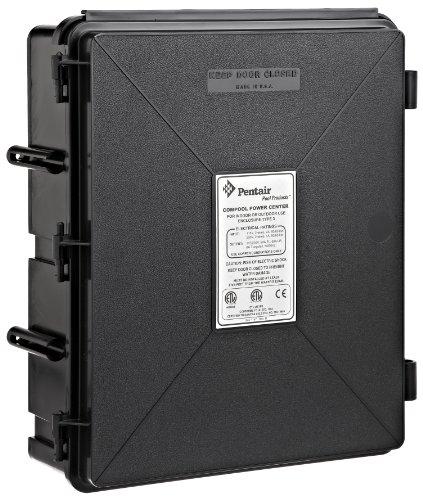 Pentair encllx Negro Centro de alimentación de plástico Caja de Repuesto ComPool Piscina y SPA Sistema de Control