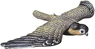 chen カラスよけ 翼を広げている フクロウ カラス 専用退治器 防鳥防獣対策 害獣・害鳥 退治 威嚇! (鳥)