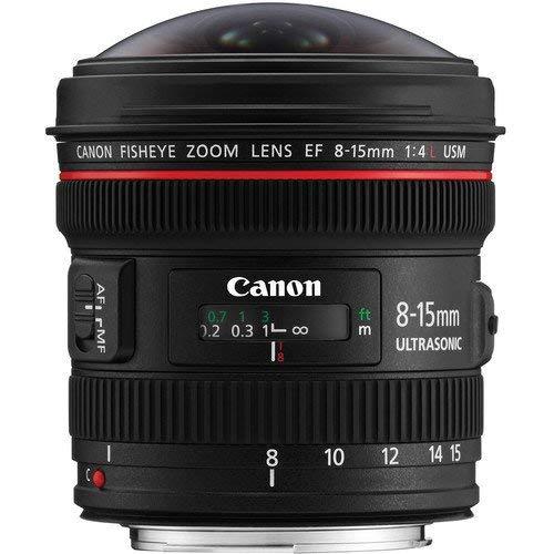 Canon 超広角ズームレンズ EF8-15mm F4L フィッシュアイ USM フルサイズ対応