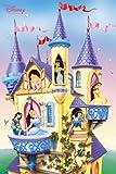 REINDERS Disney Princess - Burg - Poster 61 x 91,5 cm