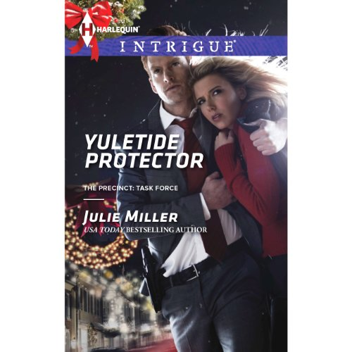 Yuletide Protector audiobook cover art