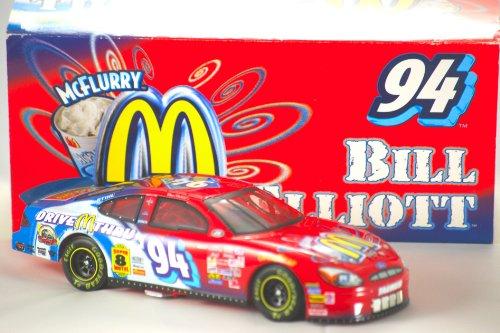 2000 - Action - NASCAR Stock Car - Bill Elliott #94 - McDonald's / McFlurry - 2000 Ford Taurus - 1 of 9,684 - OOP - Limited Edition - New