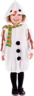 Toddlers Snowman Costume Kids Cute Festive Christmas Party Xmas Outfit
