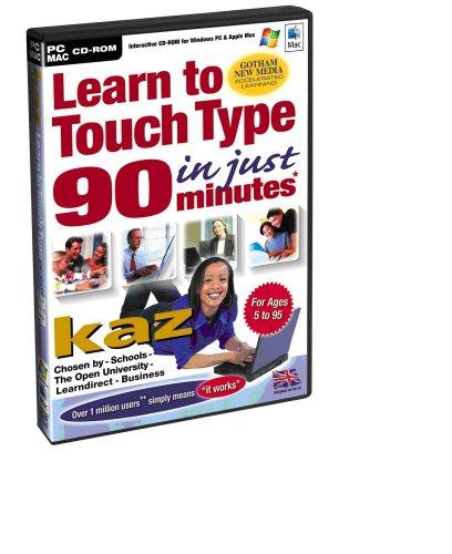 Preisvergleich Produktbild KAZ Version 19 - Learn To Touch Type in 90 Minutes (PC)