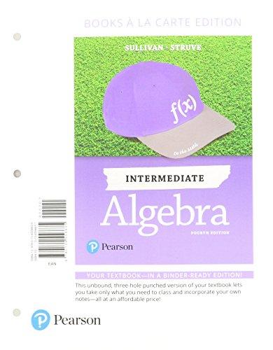 Intermediate Algebra, Books a la Carte Edition PlusMyLab Math -- 24 Month Access Card Package