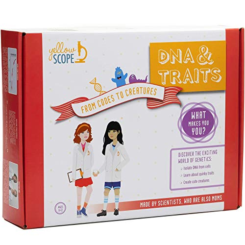 YELLOW SCOPE - DNA & Traits Science Kit: from Codes to Creatures…