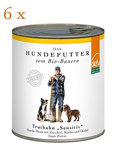 defu Truthahn Sensitive Hunde-Menü