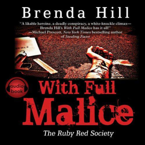 With Full Malice audiobook cover art