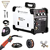 STAHLWERK MIG 200 ST IGBT- Vollausstattung - MIG MAG Schutzgas Schweißgerät mit 200 Ampere, FLUX...