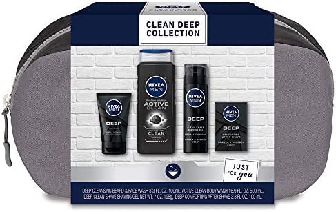 Nivea Men Clean Deep Skin Care Collection for Men 30 5 Fl Oz product image