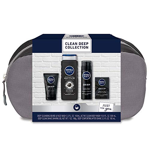 Product Image of the Nivea Men Clean Deep Skin Care Collection for Men, 30.5 Fl Oz
