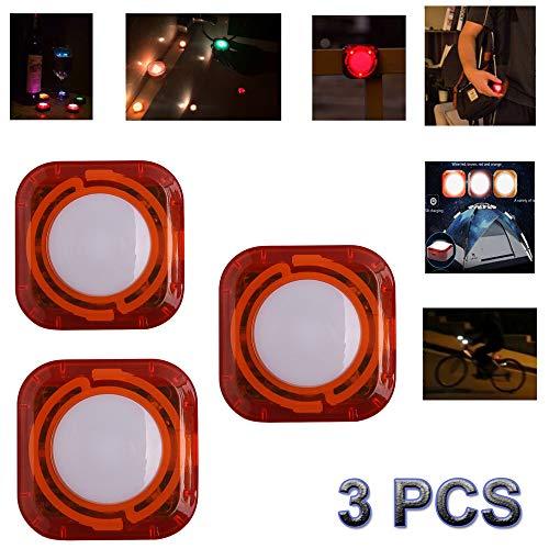 3 Pack LED Zwembad Lichten Pool Nachtlampje Waterdichte Onderwater Drijvende Lamp LED Disco Aqua Glow Multi Kleur Knipperende Vijver Lichten
