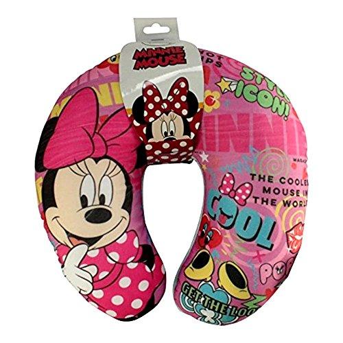 GUIZMAX Cale Tete Minnie Mouse Tour de Cou Voyage Voiture Coussin