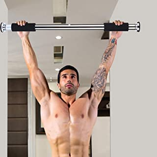 Easy To Assemble Comfortable Door Chin Up Bar, Safe Durable Chin Up Bar, for Push-Up Leg Stretch Sit-Up Chin-Up