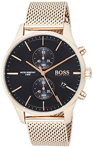 Hugo Boss Quarz Uhr mit Edelstahl Armband 1513806