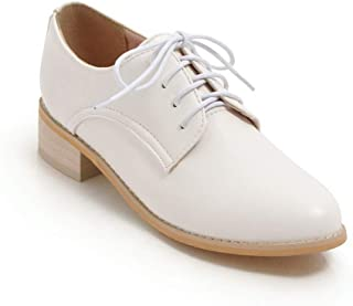 BalaMasa Womens APL12128 Pu Oxfords