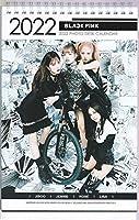 BLACKPINK ブラックピンク 2021-22年度ホワイト卓上 カレンダー 韓国ジス ジェニー ロゼ リサ ※韓国店より発送、お届け2~4週間後