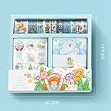 Zoom IMG-1 50 rotoli washi tape set