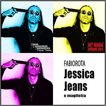Jessica jeans e maglietta (Hit Mania Spring 2014)
