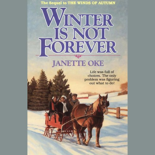 Winter Is Not Forever audiobook cover art