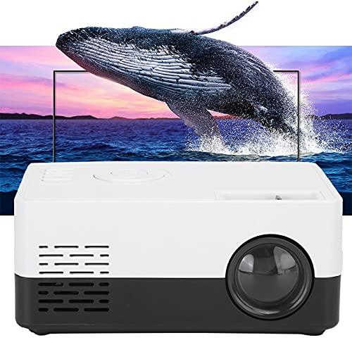 Gaeirt Proyector portátil Clear Projector, para el hogar, para divertirse(Transl)