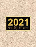 2021 Monthly Planner: large see it bigger 1-year planner | Schedule Organizer - Agenda Plan For The Next Year, 12 Months Calendar with Holiday, ... Design Gift for Woman (1 year planner 2021)