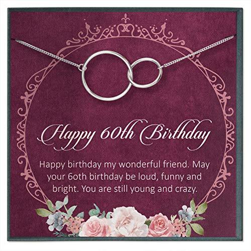 60th Birthday Gifts For Women Birthday Gift Ideas 60th Birthday Gifts For Mom Sixtieth Birthday Gift Ideas 60 Birthday Necklace For 60 Birthday Gifts From Amazon Ibt Shop