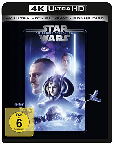 STAR WARS Ep. I: Die dunkle Bedrohung [Blu-ray]