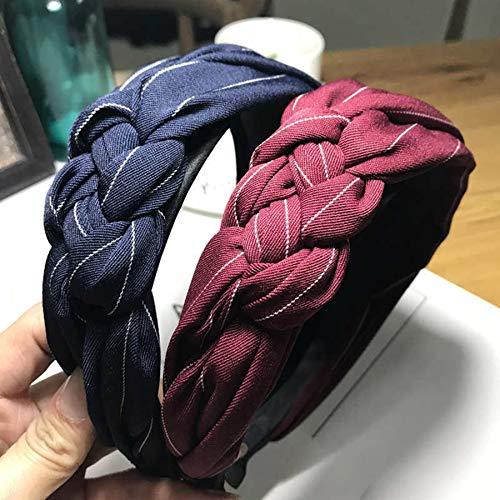 diademas,turbantes,bandas pelo,accesorios cabello,bodas,Navidad,6 piezas versión coreana de la diadema de haz de...