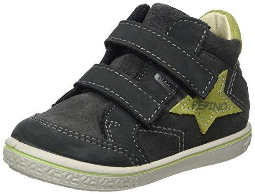 RICOSTA Jungen Kimo Hohe Sneaker, Grigio/Acido, 00022 EU
