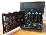 HP MicroServer AMD TurionII N40L DualCore 1.50GHz 1x4096MB 4er ColdPlug HDD Cage Integrated SATA RAID 01