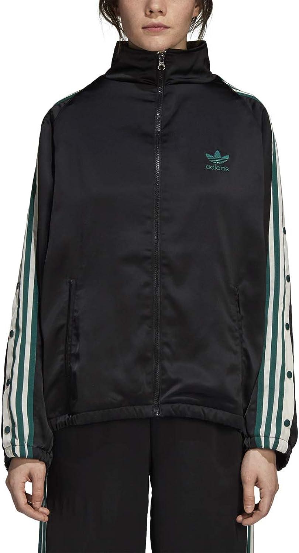 Adidas Women Originals ADIBREAK Track TOP Satin Black DH4600