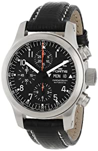 Fortis Men's 635.10.11 L.01 B-42 Pilot Professional Swiss Automatic Chronograph Tachymeter Day Date Watch Check Prices and Buy NOW!!! and review image