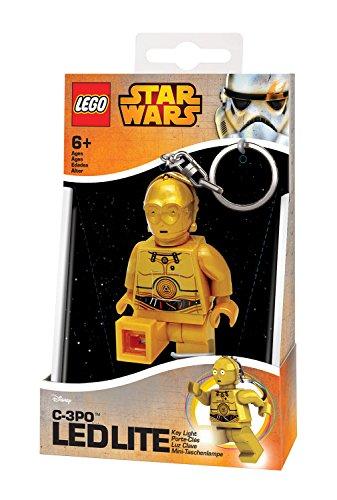 Lego 90025 Minitaschenlampe Star Wars, C3PO, 7,6 cm
