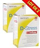 D-Stress Booster (+1 vitamine D3 offerte) ➠ Magnésium hautement assimilé, taurine, vitamines B ➠ Origine France ➠ Lot de 2 + 1 vitamine D3 offerte