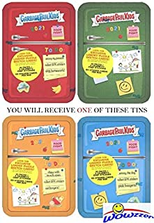 2021 Topps Garbage Pail Kids Food Fight EXCLUSIVE Factory Sealed REFRIGERATOR TIN with 83 Cards Including (3) CELEBRITY CHEFS STICKERS! Look for Autos, Sketch Cards, Printing Plates & More! WOWZZER!