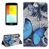 MECAWEB Custodia Similpelle Cover Guscio per Smartphone LG L Fino