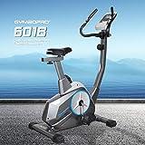 フィットネスバイク8段階負荷調節 エアロマグネティックバイク 耐荷重120kg 健康管理 心拍数・体力評価測定付き
