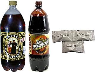 Variety Pack Ochakovskiy and Monastyrsky Kvas . Includes Our Exclusive HolanDeli Mints.