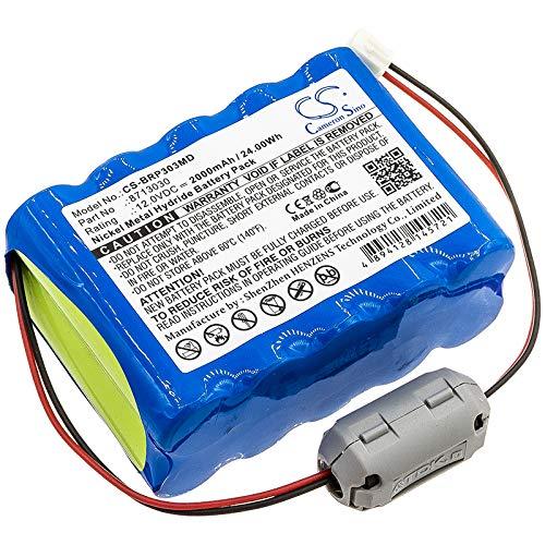 Batería de repuesto para bomba de infusión WalkMed, Infusion Triton 7.2V/3600mA