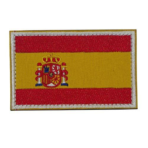 Cobra Tactical Solutions militaire patch geborduurd patch met klittenbandsluiting voor airsoft/paintball vlag Spanje voor tactische rugzak kleding