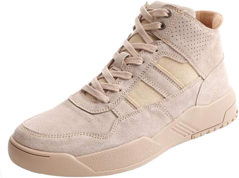 LIJUN Winter Fashion Men shoes Lightweight Fashion Comfy Snow Non-Slip Warm Outdoor shoes Size :38-43