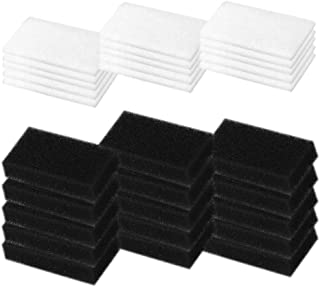 CPAP Filters for Philips Respironics (30 Pack) - Premium Moocoo CPAP Foam Filter and Ultra Fine Filters for Philips Respironics M Series, PR System One and SleepEasy Series-Replacement Supplies
