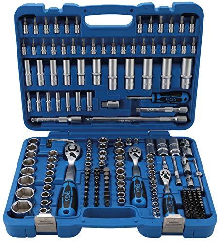 BGS 2243 Steckschlüssel-Satz Sechskant Antrieb 6,3 mm (1/4 Inch) / 10 mm (3/8 Inch) / 12,5 mm (1/2 Inch) 192-tlg