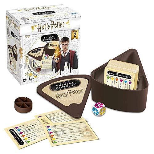 Winning Moves - Trivial Pursuit Harry Potter Vol. 2 | Juego de preguntas | Idioma: Inglés