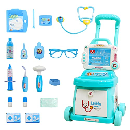 Toddlers Doctor Cart Kit for Kid...