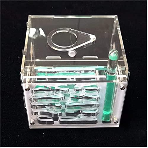 wsbdking House House3D Set Laberinto Hormiga Farmbirthday Natural Insecto Ecología Caja Castillo Educativo Juguete DIY Regalo para el Estudio Jaula Juguete Plastic The 0307