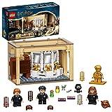 LEGO 76386 Harry Potter Hogwarts Fallo De La Poción Multijugos, Juguete para el 20 Aniversario con Mini Figura Dorada