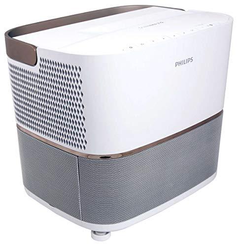 Philips Screeneo Heimkino-Projektor mit Ultra-Weitwinkel-Optik HDP3550/EU - Beamer (2200 ANSI Lumen, 1080p (1920x1080), 200000:1, 16:9, 1270 - 3048 mm (50 - 120 Zoll), 4:3, 16:9)