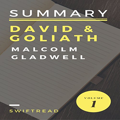 Summary: 'David & Goliath' by Malcolm Gladwell audiobook cover art